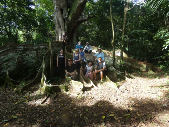 Costa Rican class photo